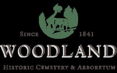 Woodland Cemetery & Arboretum Logo